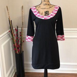Tracy Negoshian Quartersleeve and pocket dress